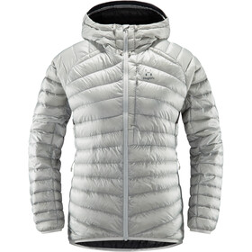 Haglöfs Essens Down Hood Women stone grey/magnetite